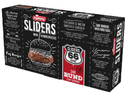Sliders 66 Bœuf