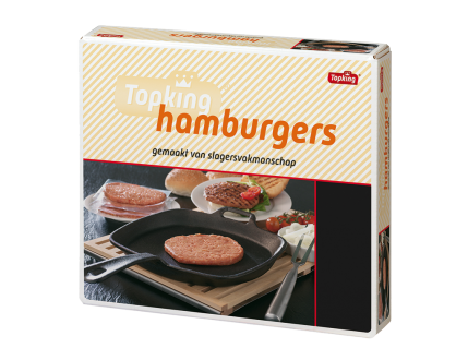 Hamburgers half-and-half classic